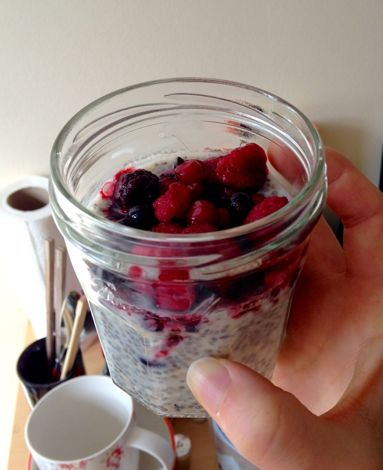 FolieJolie - chia seed pudding 7